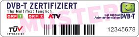 DVB-T Zertifikat bei Settop-Boxen
