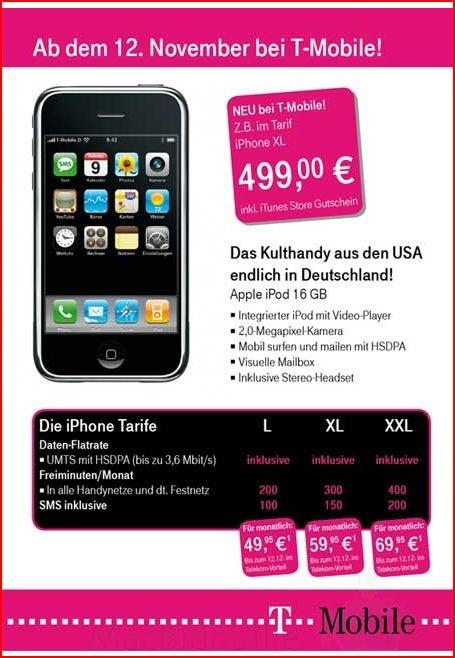 iPhone in Deutschland mit UMTS/HSDPA ein Fake