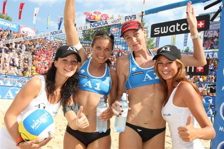 Boardingpasse voting für Beachvolleyball Grand Slam Klagenfurt