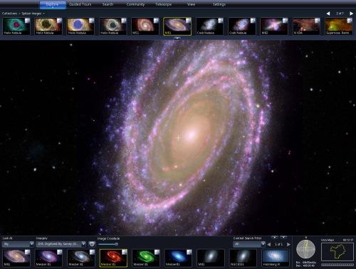 Microsoft Worldwide Telescope – Google Sky Ersatz