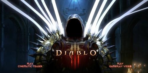 Diablo 3 webseite
