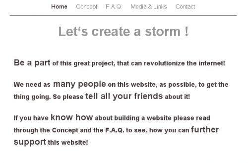 lets create a storm