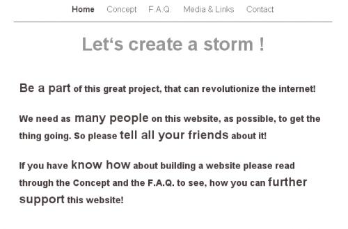 lets create a storm