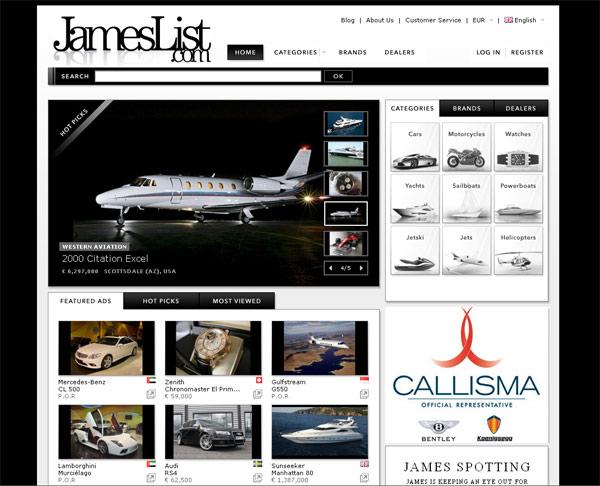 Luxus pur – JamesList.com verspricht tolle Geschenke