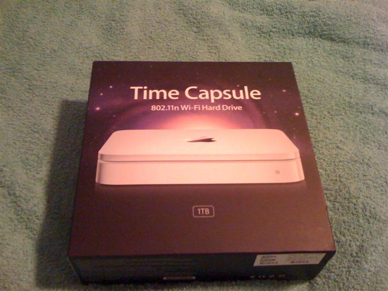 Apple Time Capsule 1 TB – Erfahrungsbericht UPDATED