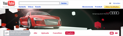 audi youtube kanal
