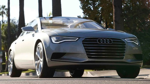 Audi A7 front rechts