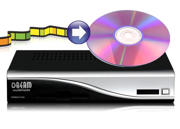 Dreambox TS Aufnahmen auf DVD brennen