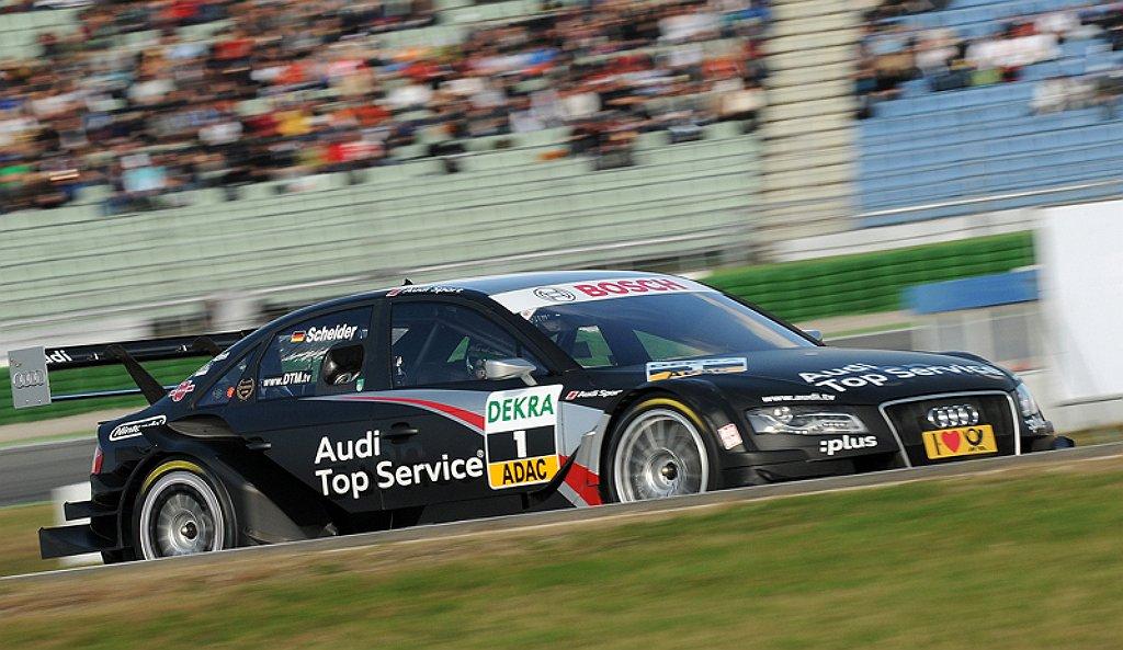 Audi A4 DTM Rennwochenende 2010 – Bericht