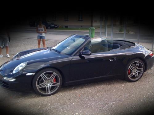 Porsche Carrera S Seite
