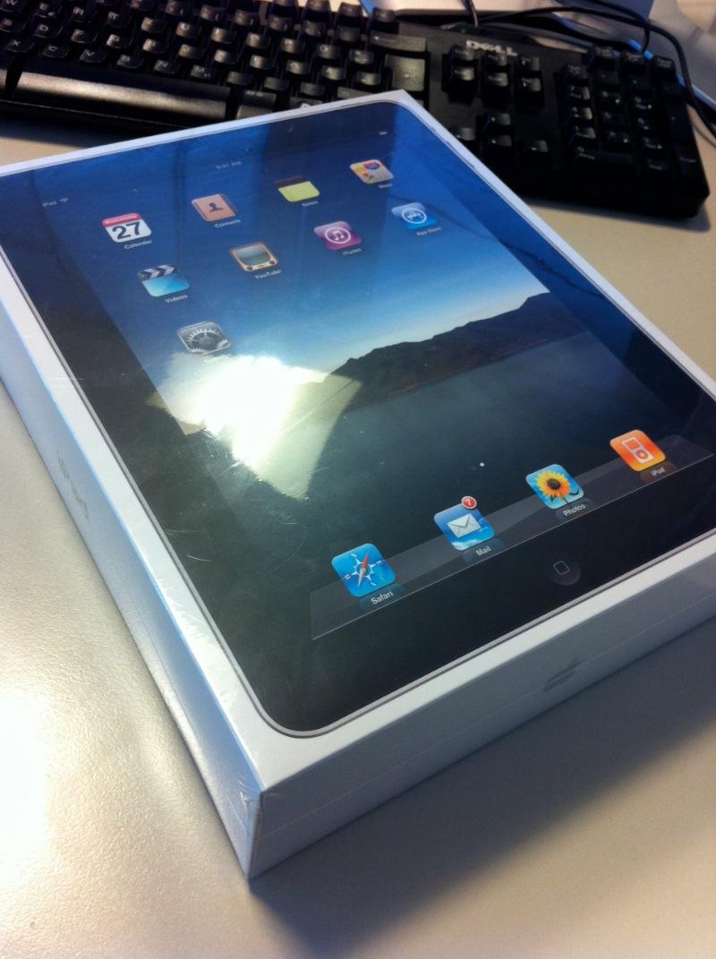 Erfahrungsbericht Apple iPad WiFi+3G 32GB