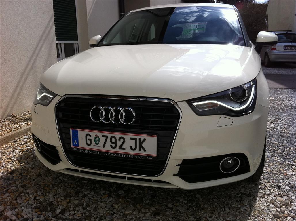 Audi A1 mit S Line Front
