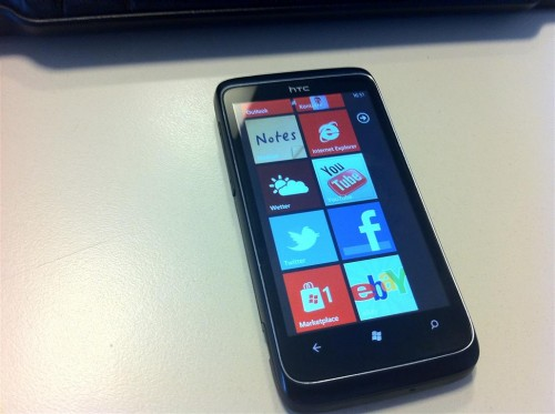 HTC 7 Trophy Windows Phone 7