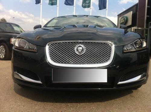 Jaguar XF 2011 front