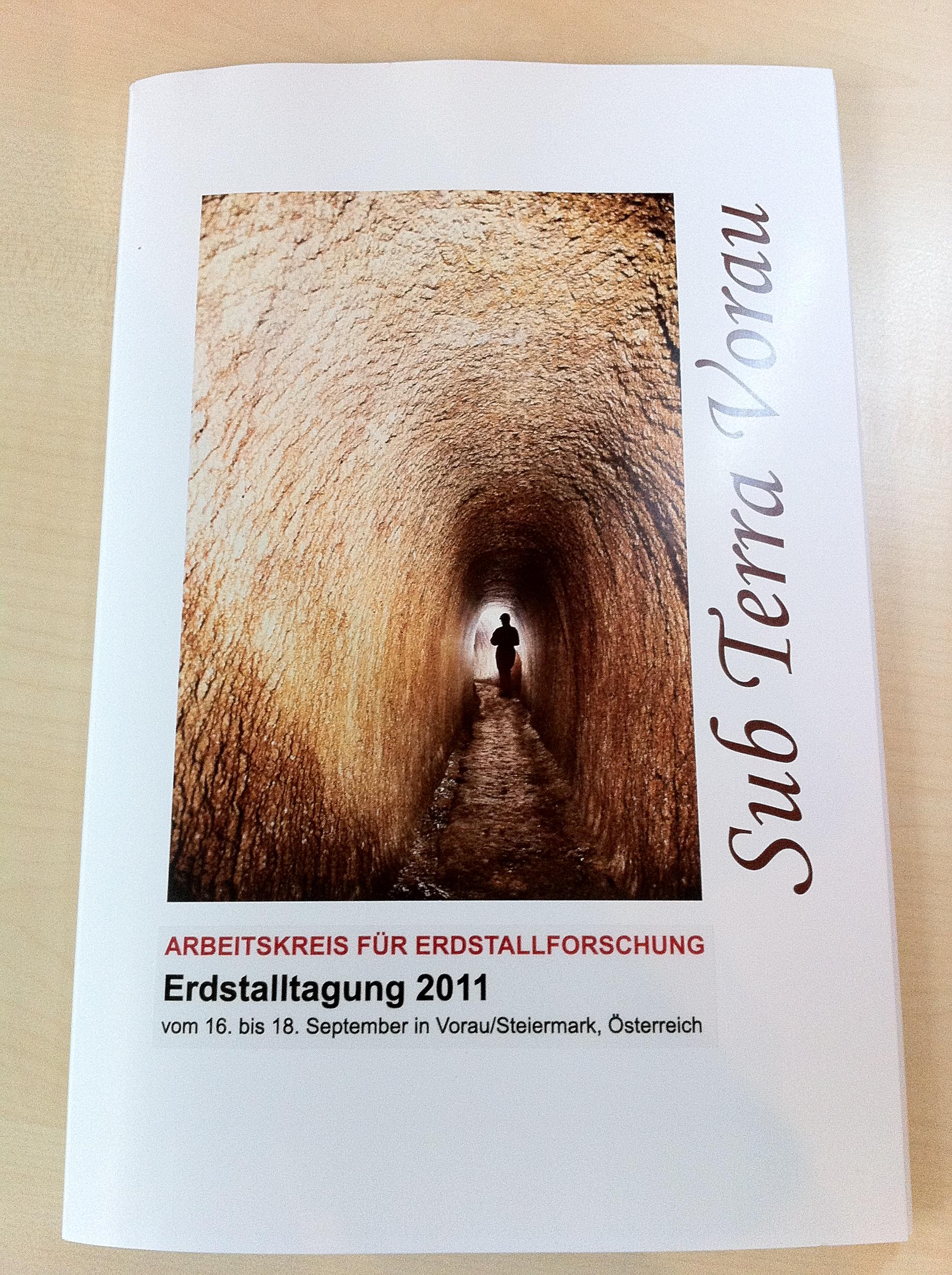Erdstall Tagung 2011 in Vorau