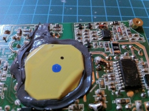 Apple-Time-Capsule-Power-Supply-Loetstellen