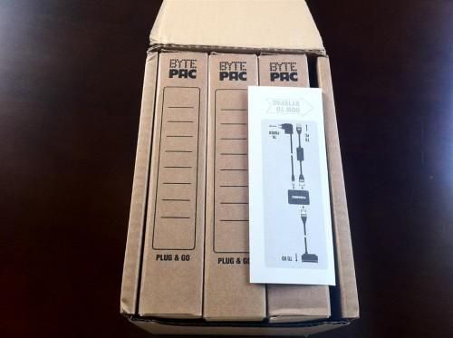 BytePac-Verpackung