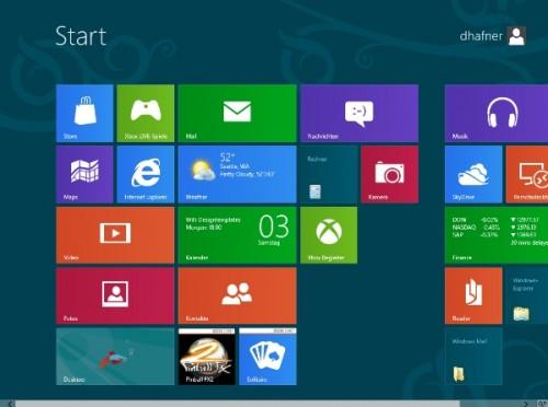 Windows8-Startbildschirm