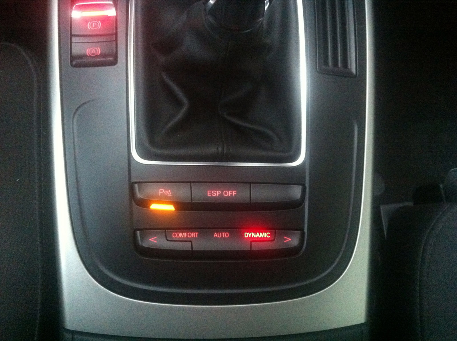 Audi A4 8K B8 Erweiterungen – Bericht 7 – Drive Select