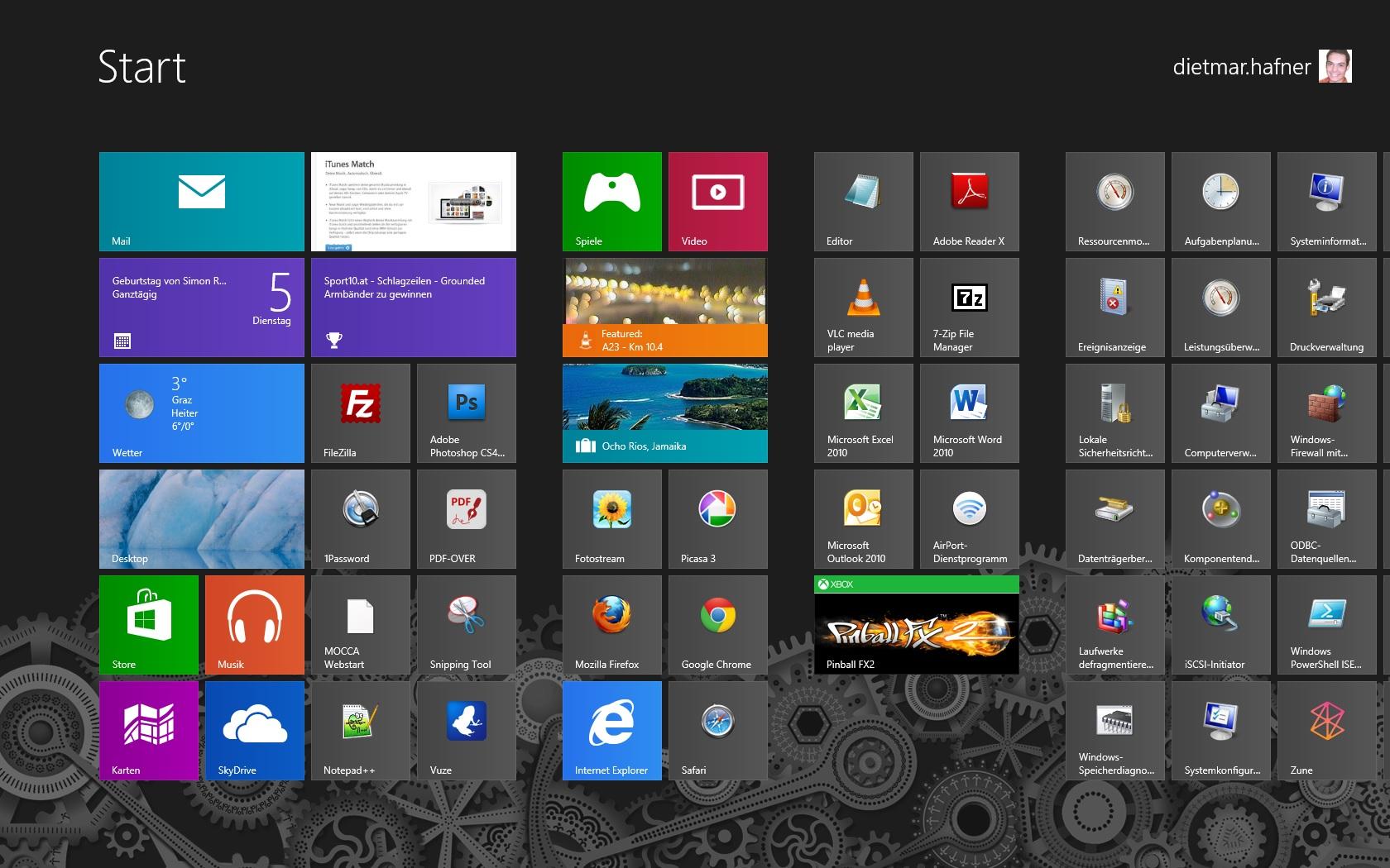 Windows 8 – Apps lassen sich nicht starten Lösung