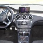 Mercedes A-Klasse AMG inside
