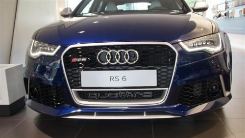 Audi RS6 Avant front 2