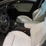 Audi RS6 Avant inside