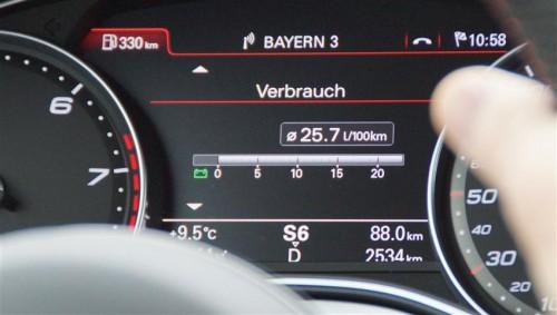 Audi RS6 verbrauch