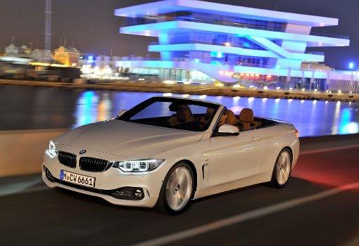 BMW 4er Cabrio: Erste Bilder von der Coupé-Alternative