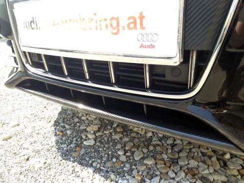 Audi_A4_B8_Front_Carbon_Lippe_Schwert