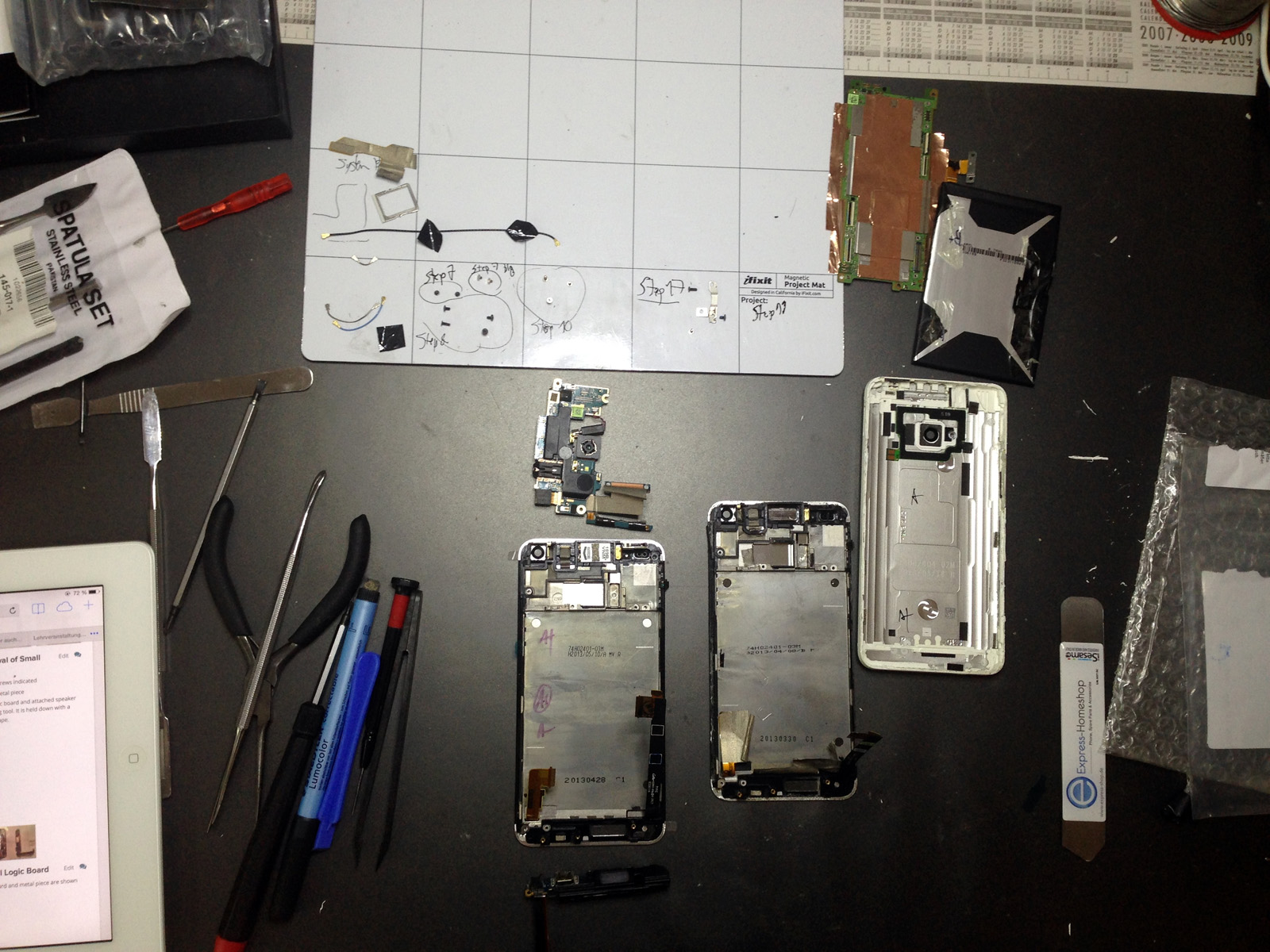 HTC_ONE_M7_repair_setup