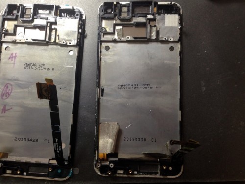 HTC_ONE_M7_replacement_display