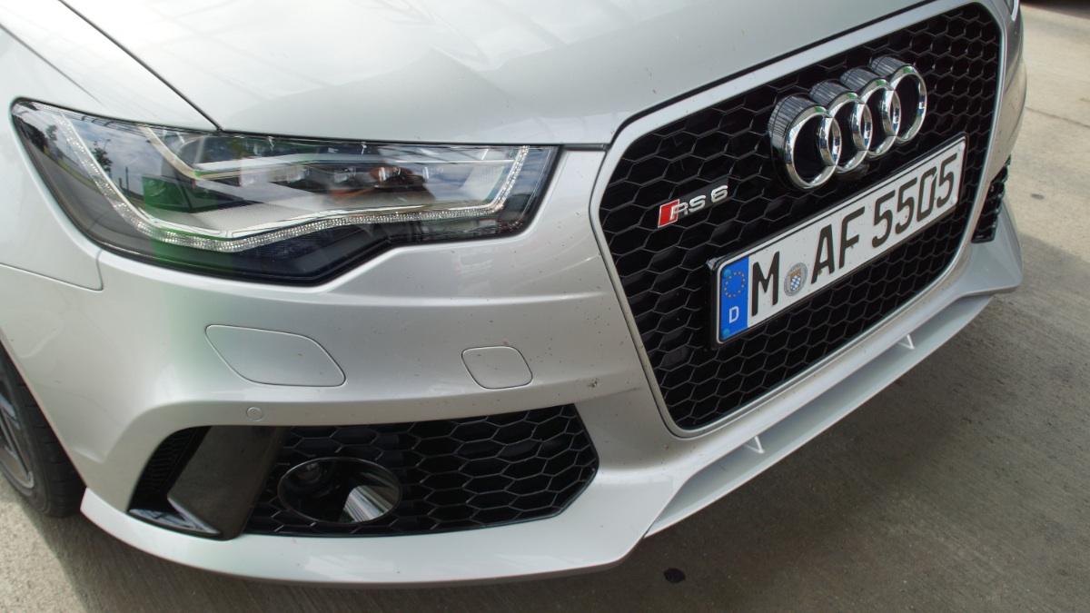 Testfahrt Audi RS6 und S3 Cabrio am Audi Forum Airport München