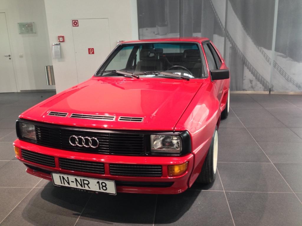 Besuch beim Audi Museum Mobile in Ingolstadt