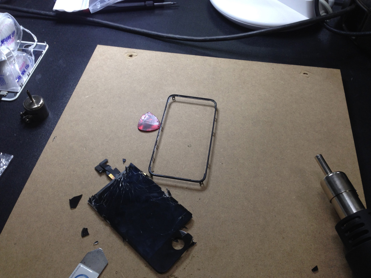 iPhone LCD und Glas Reparatur