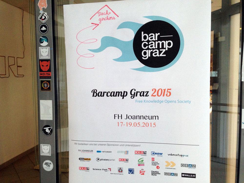 BarCamp Graz 2015 – was nehme ich für mich mit?