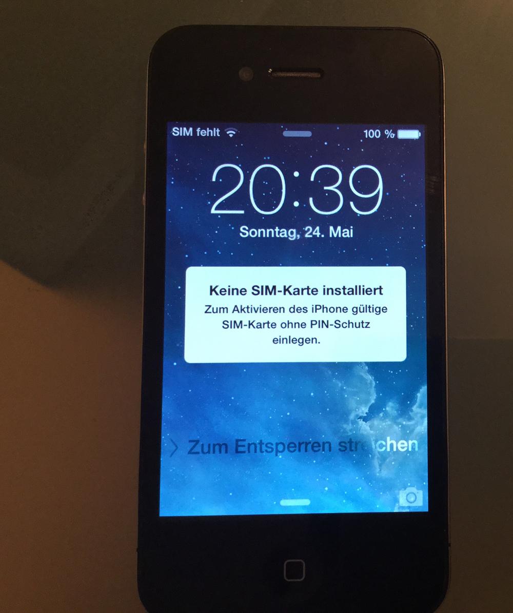 Iphone  Icloud Sperre