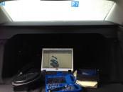 Audi A4 B8 8K Hutablage ausbauen_Werkzeug
