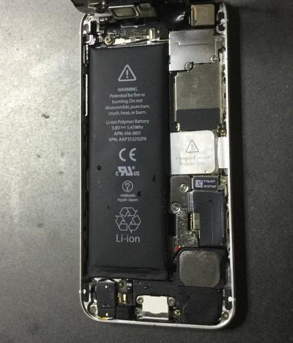 iPhone5_Wasserschaden_Feuchtigkeit