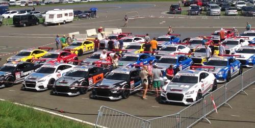 DTM_Spielberg_2015_Audi_TT_Cup_Paddock