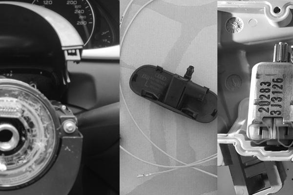 Audi A4 8K B8 Erweiterungen – Bericht 11 – Multifunktionslenkrad und beheizbare Waschdüsen nachrüsten, Reparatur Türschloss